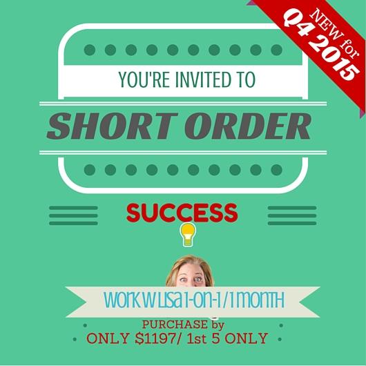 SHORT ORDER q4-2015