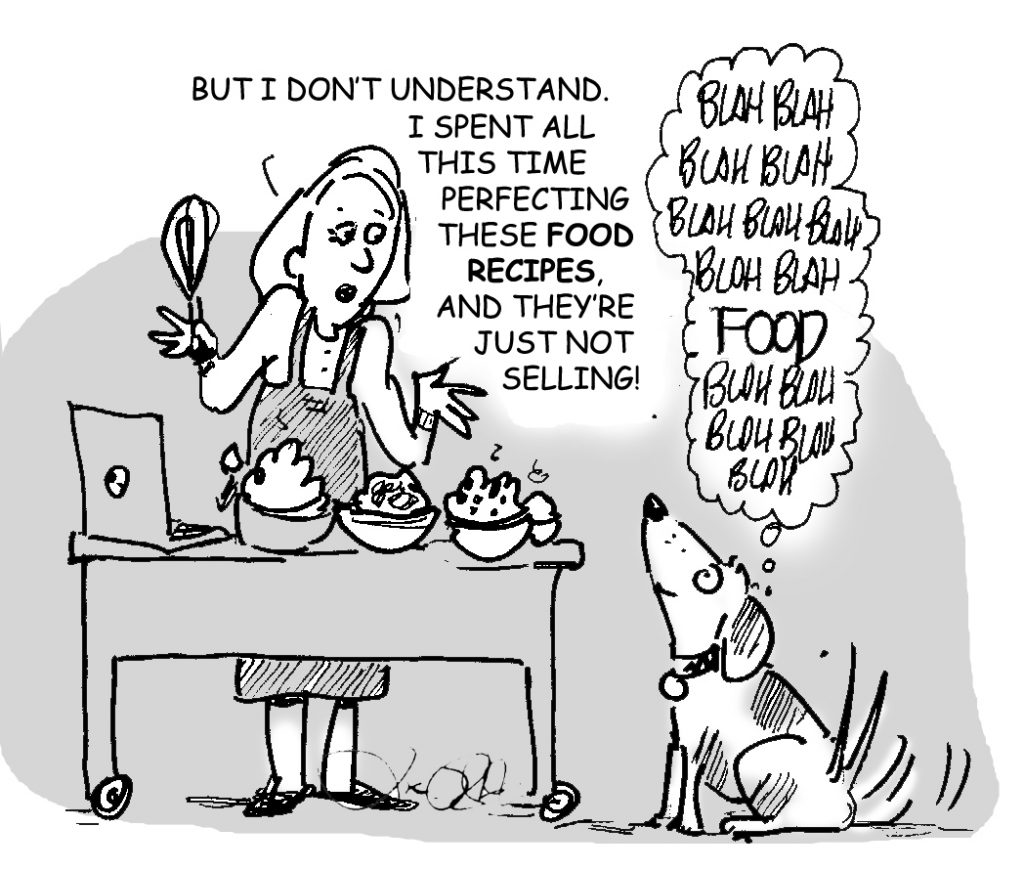 Cartoon by Lisa Rothstein, from Amazon Bestseller The Art of Impact by Pam Hendrickson