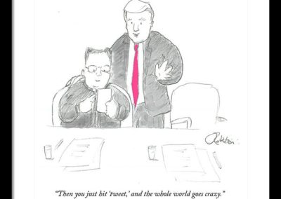 New Yorker Daily Cartoon June 13, 2018